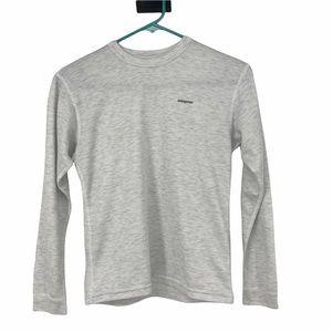 Kid Siz 12 Patagonia Apilene Base Layer LS T-Shirt